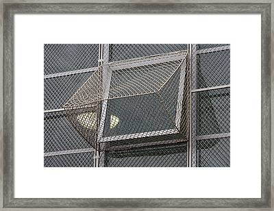 Alcatraz Window Framed Print