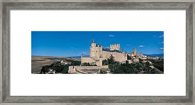 Alcazar Segovia Spain Framed Print by Panoramic Images