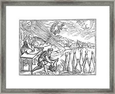 Alchemists Framed Print by Granger