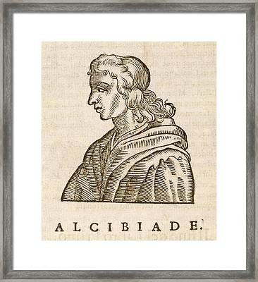Alcibiades Framed Print by Middle Temple Library