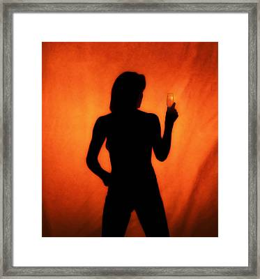 Alcoholics Anonymous, Conceptual Image Framed Print