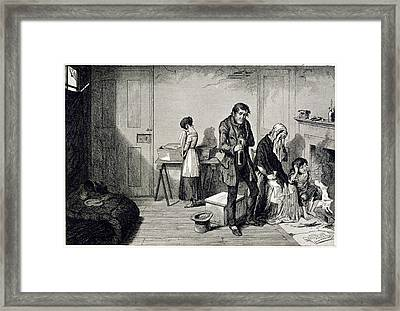 Alcoholism Framed Print by British Library