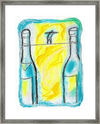 Alcoholism Framed Print