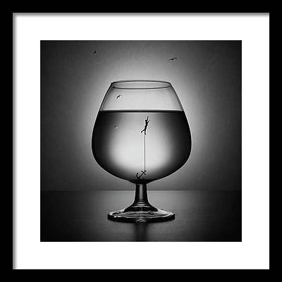 Drown Photographs Framed Prints