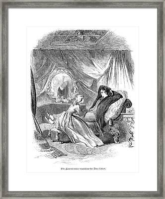 Alcott Enigmas, 1864 Framed Print by Granger