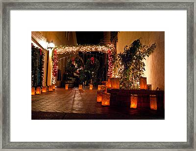 Alcove Illuminated Framed Print by Don Durante Jr