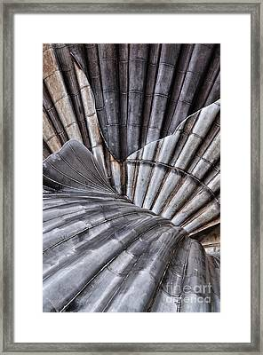 Aldeburgh Shell Abstract Framed Print