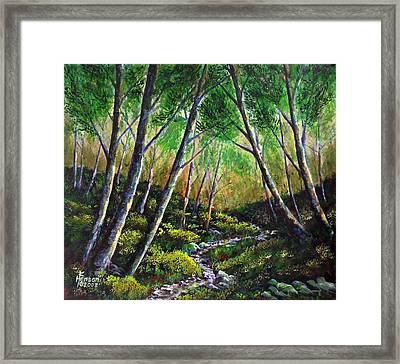 Alder Creek Framed Print