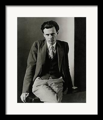 Aldous Huxley Framed Prints