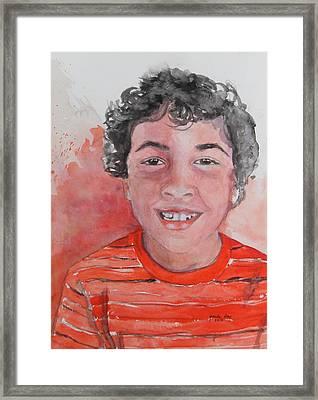 Alec Framed Print