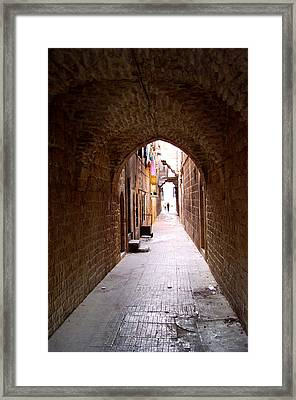 Aleppo Alleyway06 Framed Print