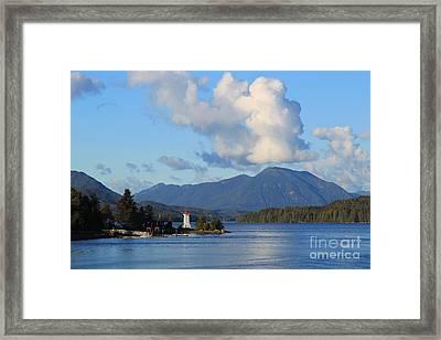 Alert Bay Alaska Framed Print by Jeanette French