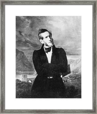 Alessandro Manzoni (1785-1873) Framed Print