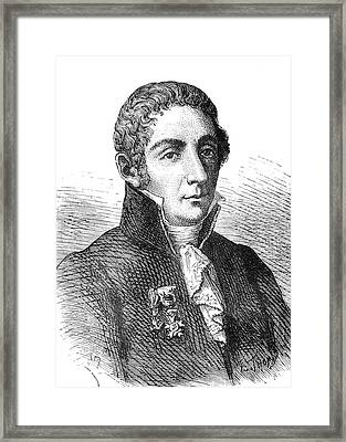 Alessandro Volta Framed Print by Collection Abecasis