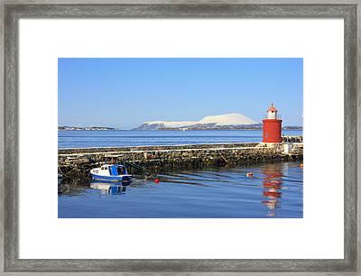 Alesund Lighthouse Framed Print