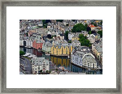 Alesund Norway Framed Print