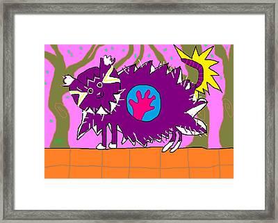 Alethia Framed Print by Anita Dale Livaditis