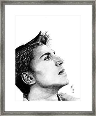 Alex Burrows Framed Print by Kayleigh Semeniuk