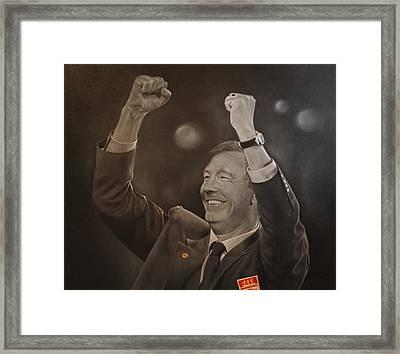 Alex Ferguson Framed Print