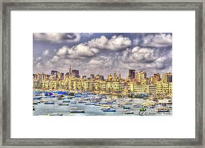 Alex Framed Print by Hossam ElDin  Mostafa