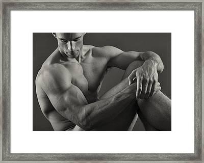Alex Repose Framed Print by Thomas Mitchell