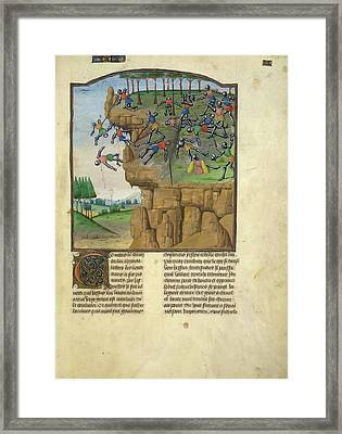 Alexander Defeats The Arians Framed Print by British Library