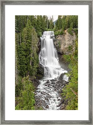 Alexander Falls Whistler Framed Print