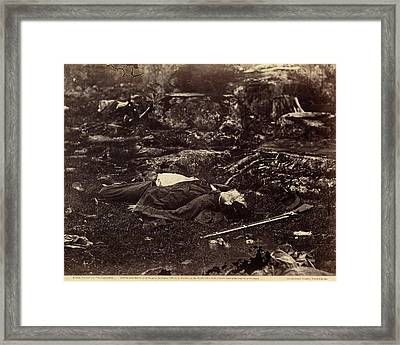 Alexander Gardner American, Born Scotland, 1821 - 1882 Framed Print