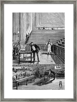 Alexander Graham Bell Framed Print