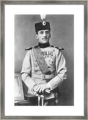 Alexander I Of Serbia (1888-1934) Framed Print by Granger