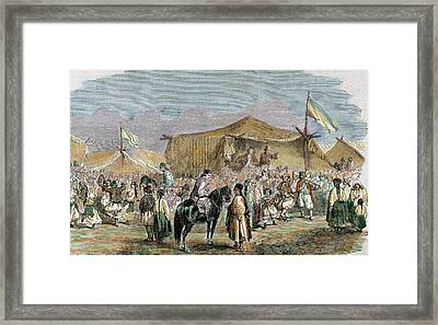 Alexander John Cuza (husi Framed Print