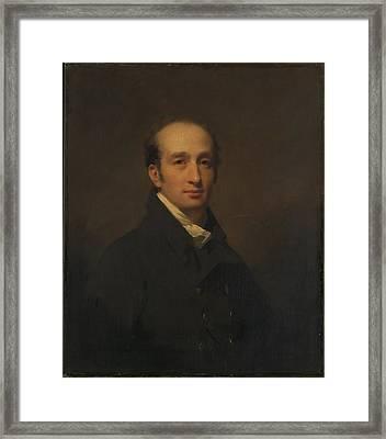 Alexander Maconochie 1777-1861 Framed Print by Sir Henry Raeburn