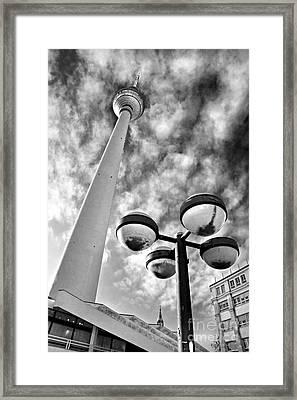 Alexander Platz - Berlin Framed Print by Luciano Mortula