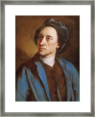 Alexander Pope Framed Print by Miriam And Ira D. Wallach Division Of Art, Prints And Photographs/new York Public Library