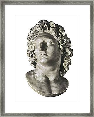 Alexander The Great 356-323 Bc. King Framed Print