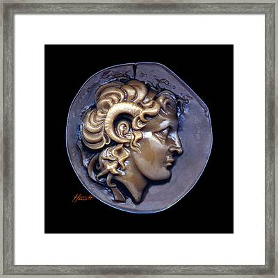 Alexander The Great Framed Print by Patricia Howitt
