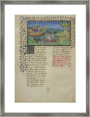 Alexander's Diving-bell Framed Print by British Library