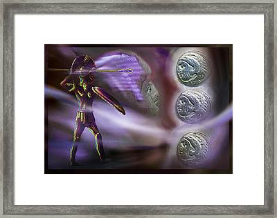 Alexander's  Ghost Framed Print by Hartmut Jager