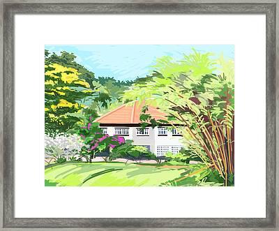 Alexandra Park Singapore Framed Print
