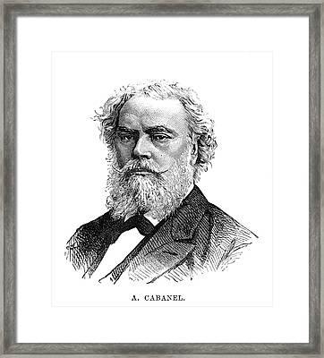 Alexandre Cabanel (1823-1889) Framed Print by Granger