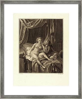 Alexandre Chaponniere After Jean-baptiste Hüet Framed Print by Litz Collection