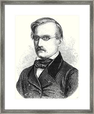 Alexandre Charles Surell Director Of The Midi Railway Framed Print by English School