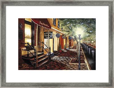 Alexandria At Dawn Framed Print by Sandra Holden