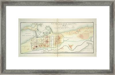 Alexandria Framed Print by British Library