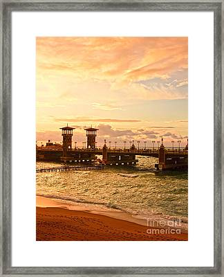 Alexandria Stanley Bridge Framed Print