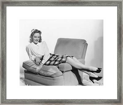 Alexis Smith, 1941 Framed Print by Everett