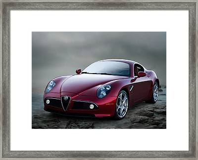Alfa 8c Framed Print by Douglas Pittman