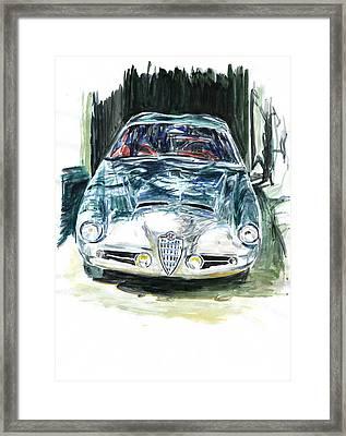 Alfa Romeo Framed Print by Ildus Galimzyanov