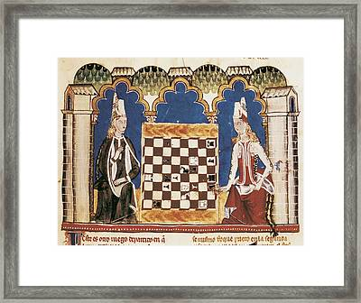 Alfonso X, Called The Wise 1221-1284 Framed Print