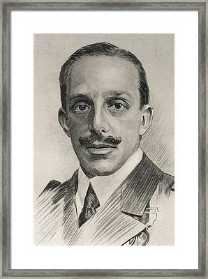 Alfonso Xiii 1886-1941. King Of Spain Framed Print by Everett